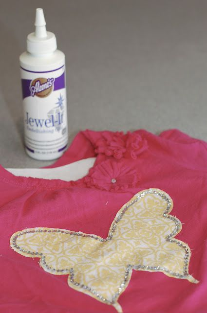 DIY Project: How to Make an Appliquéd Shirt (or anything) for People with Limited Sewing Skills   TikkiDo.com