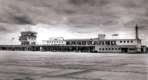 Bulawayo airport.