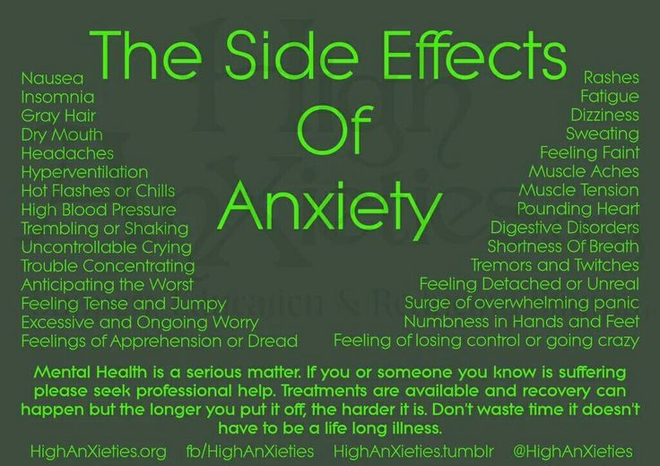 Seroquel And Anxiety Side Effects
