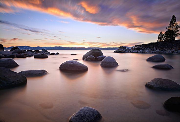 Secret Cove Sunset by David Shield Photography