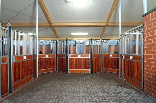 Space Efficient U Shape Stall Layout Stables Amp Horse
