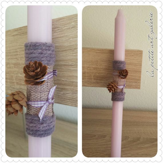 A Simple and Elegant - Greek Easter Candle