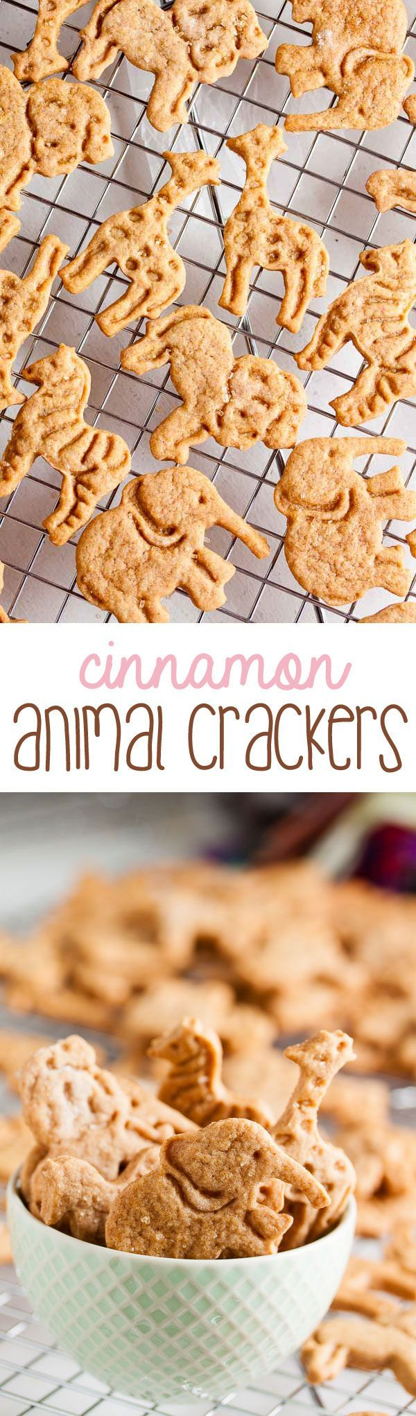 Both cinnamon and honey combine to give these soft, tender cinnamon animal crackers a flavour reminiscent of mini donuts or cinnamon buns.