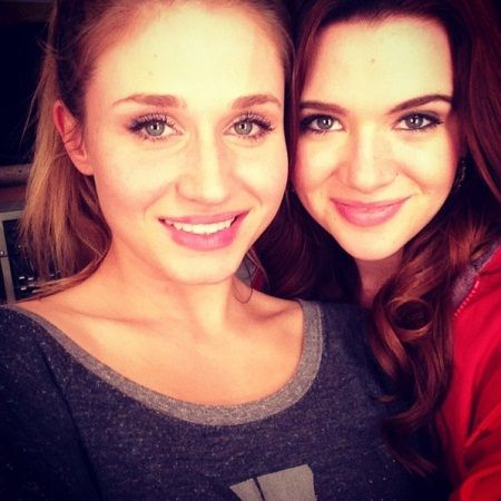 Rita Volk And Katie Stevens Ain't 'Faking' Their Real-Life BFF