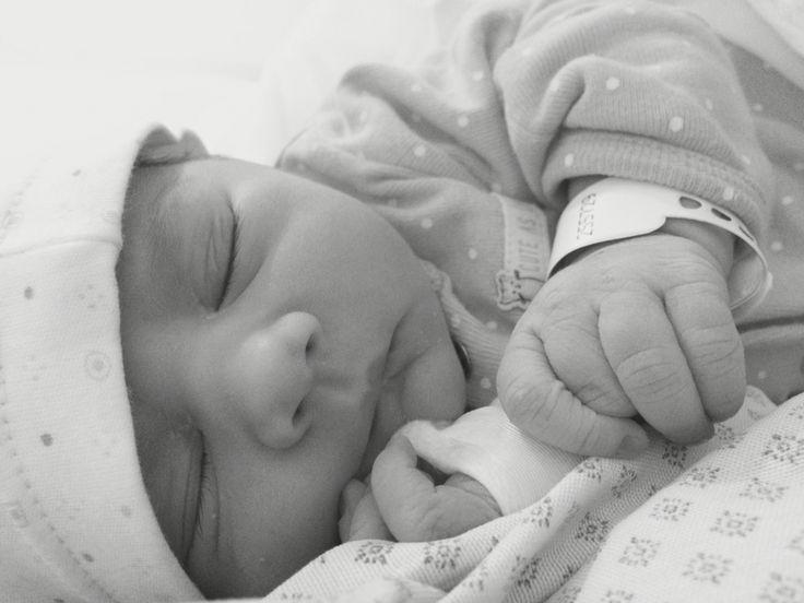 Beba recién nacida!
