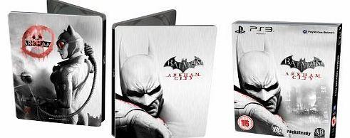 Warner Bros. Interactive Batman: Arkham City - Catwoman - Steel Book Edition (PS3) No description (Barcode EAN = 5051892072755). http://www.comparestoreprices.co.uk//warner-bros-interactive-batman-arkham-city--catwoman--steel-book-edition-ps3-.asp