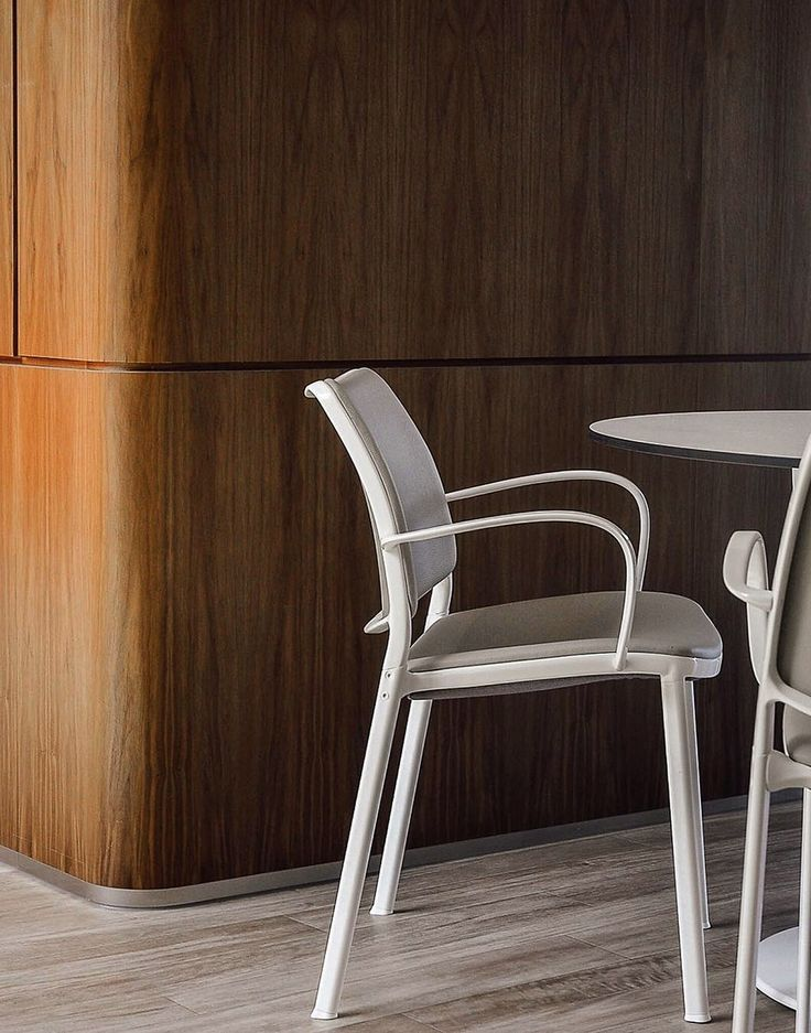 Beautiful detail of STUA Gas chair in the Casey House in Toronto, an interior by Kiosk Design Inc. GAS: www.stua.com/design/gas