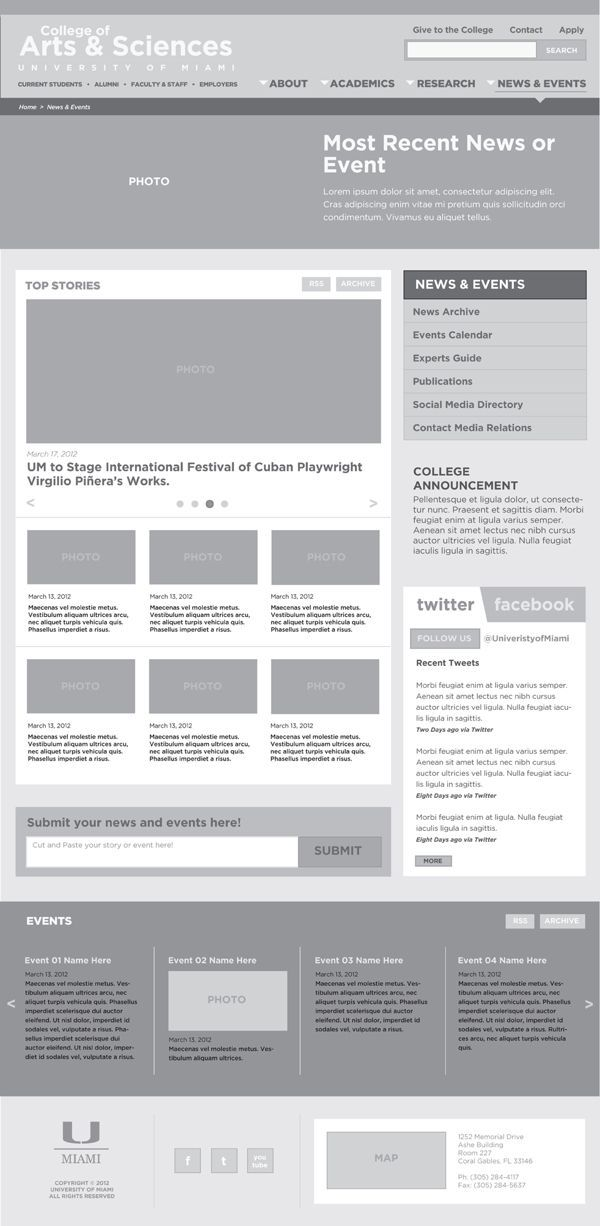 WIREFRAMES by Chris Decatur, via Behance. The UX Blog podcast is also available on iTunes.