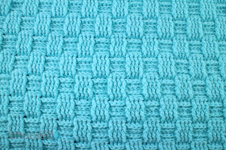 Learn how to crochet the popular crochet basketweave stitch with this free pattern and video tutorial from B.hooked Crochet.