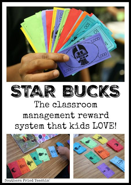 STAR Bucks in the classroom? You bet! Star Bucks are fun and easy classroom economy system that kids love. Unique teaching idea that reinforces place value. Great for behavior, homework, and participation. Perfect for the home too!