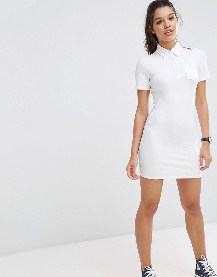 Image 4 of ASOS Polo Shirt Dress