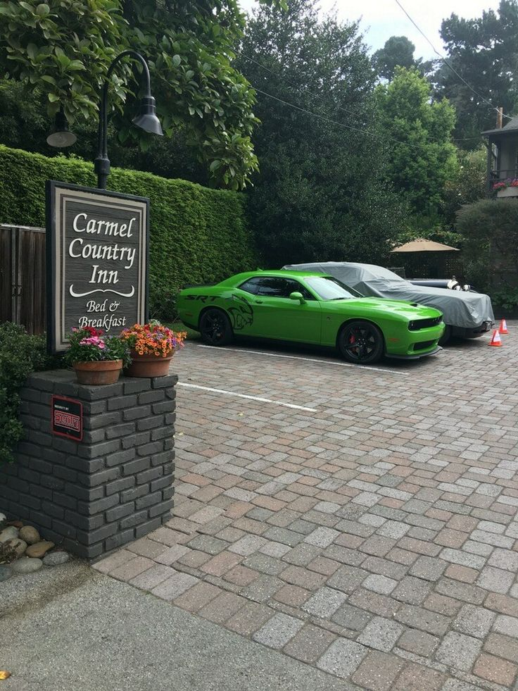 Hellcat during car week @carmelcountryinn