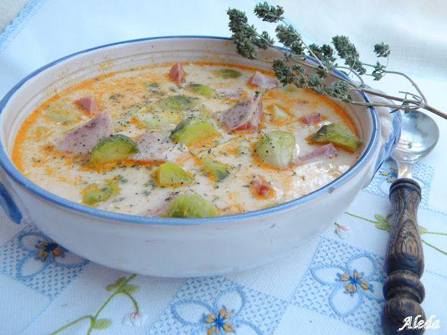 Aleda konyhája: Kelbimbóleves borsikafűvel