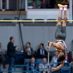 Hurdles and pole vault at the light athletics European championships in Serbia