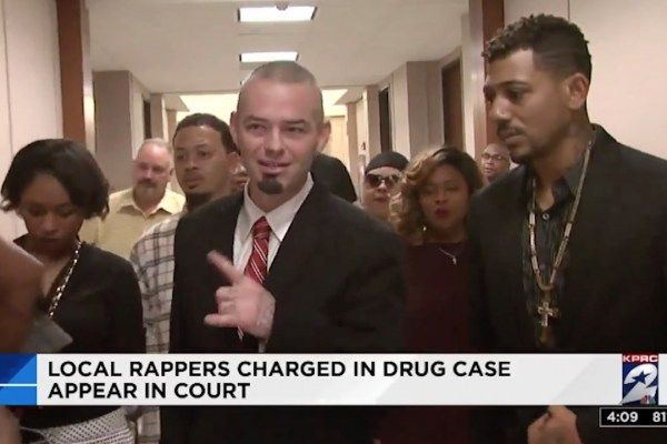 Paul Wall and Baby Bash appeared in a Houston court Tuesday facing felony drug charges.