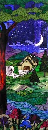 Neoglassic Studio - custom made stained glass doors and windows