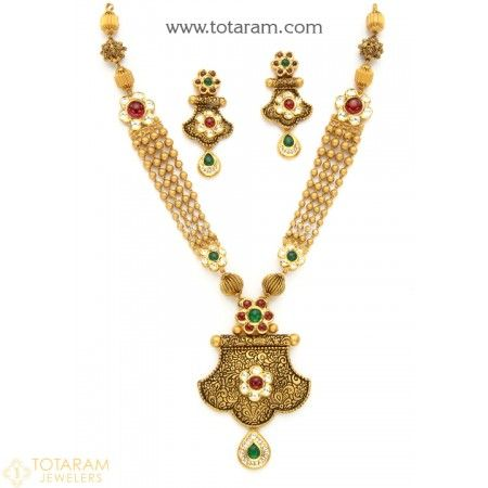 The 25 best Indian gold jewelry ideas on Pinterest