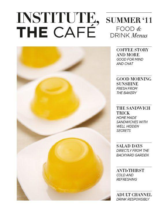 Menu@ Institute, The Cafe www.facebook.com/Institute.ro
