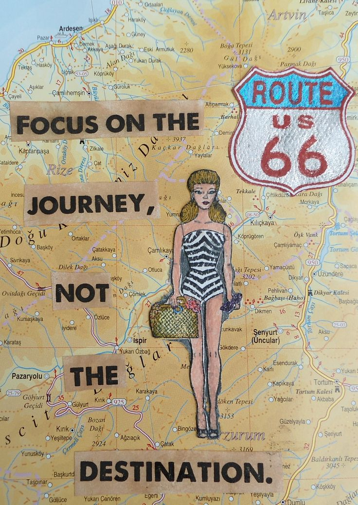 Focus on the journey!