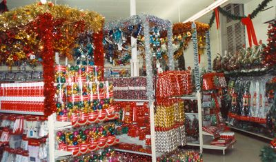 Woolworths - Christmas department