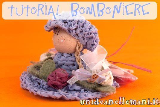 Tutorial bomboniere: ecco come ho fatto le mie bamboline all'uncinetto