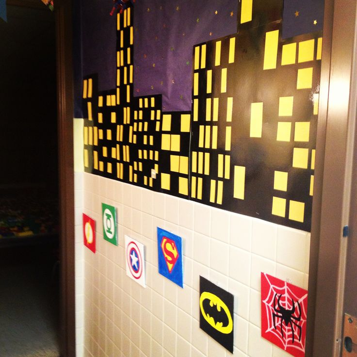 Superman Bathroom Decor: 17 Best Images About Super Heroes/ Comic Book Room On
