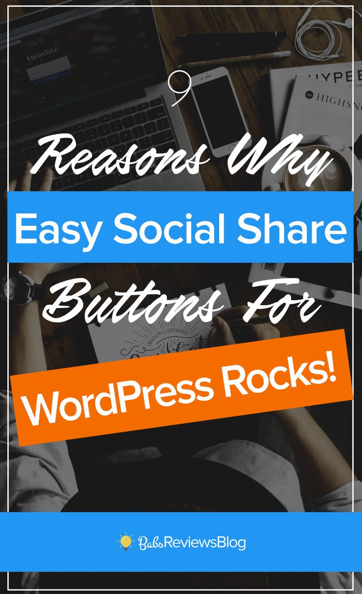 Easy social share buttons is one of the best social sharing and management plugin for WordPress ~ Here's 9 reasons to try it.