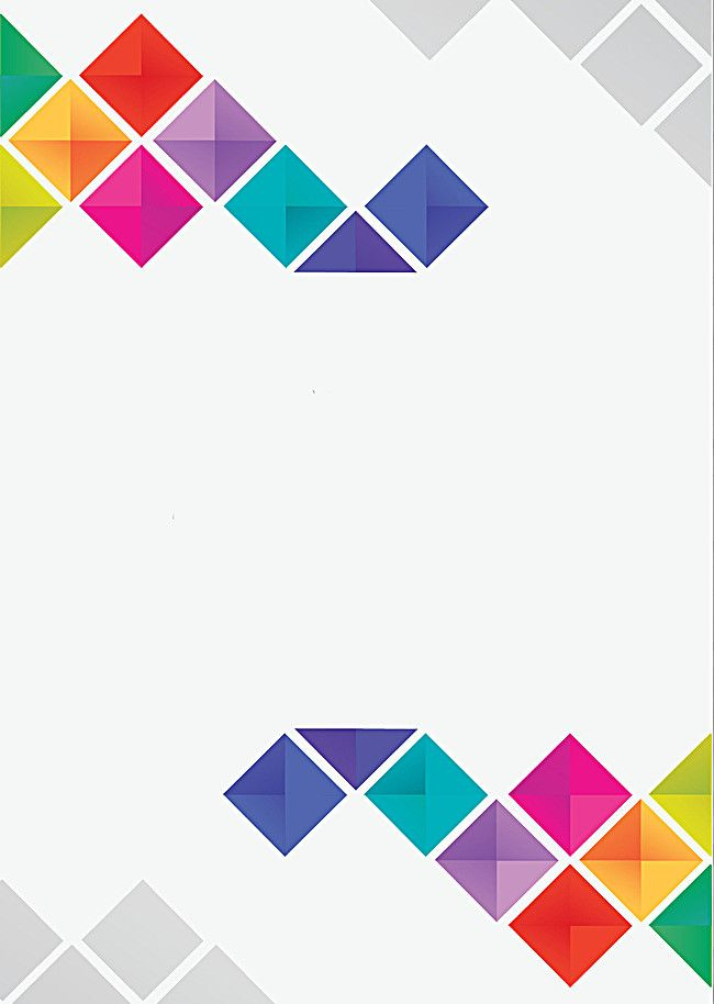 Abstract Geometric Color Pattern Posters In 2020 Geometric