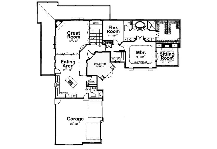 Best 25 l shaped house ideas on pinterest l shaped for L shaped ranch house plans