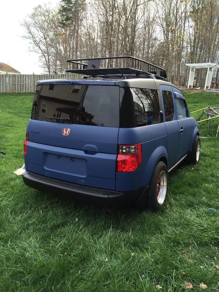 flat blue plastidip honda element