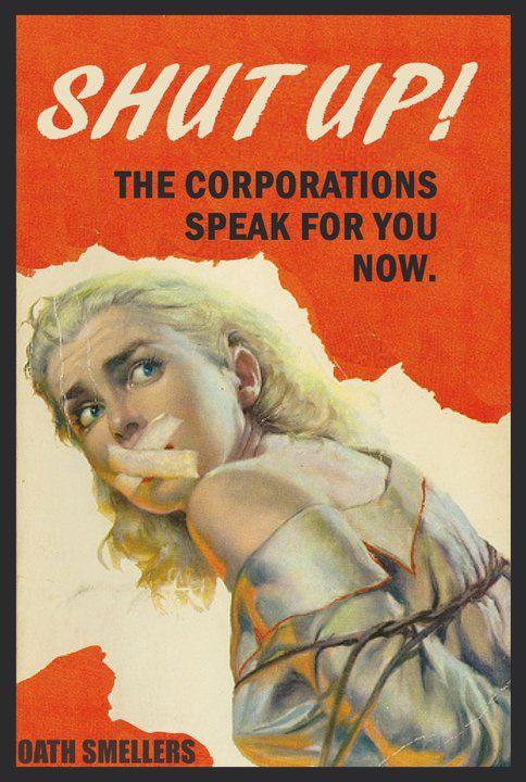 Citizens United, Corporations know no Gratitude & have no soul. End corporate personhood.