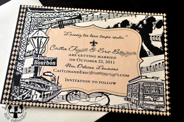 Wedding Invitations New Orleans: Best 20+ New Orleans Wedding Ideas On Pinterest