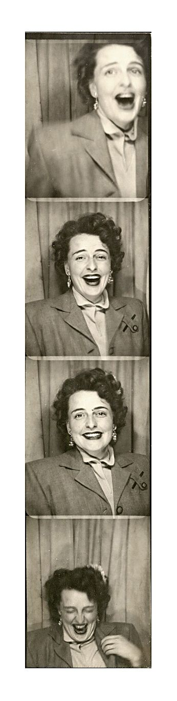 +~ Vintage Photo Booth Picture ~ Love this set!