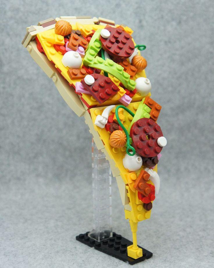 Recréer de la nourriture en LEGO de façon crédible