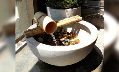 Diy Garden Garden Ideas Backyard Ideas Diy Water Feature Bamboo Crafts
