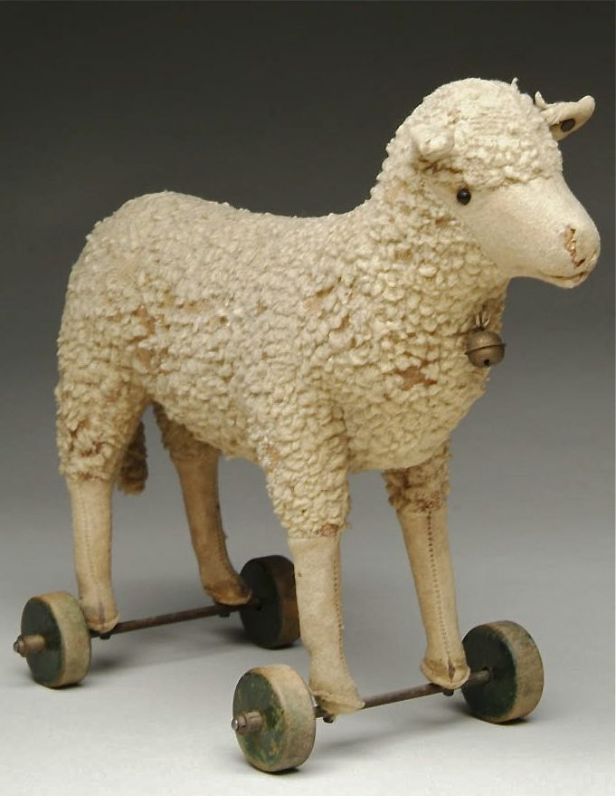 Little Lamb Pull toy