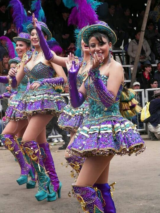 24/7 parade of the Carnaval at Oruro, South Americas biggest after Rio! - Bolivia '13