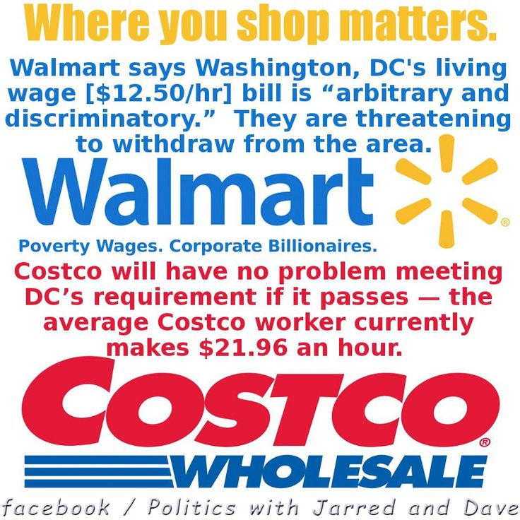 There are so many better options than Walmart. Winco, Costco...so many responsible options.