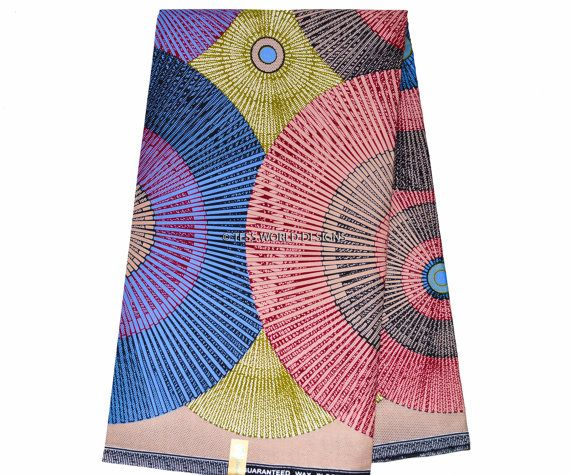 This African print is cotton material. Ideal for making African dresses, skirt, shirt, African suits and also for finishing projects such as