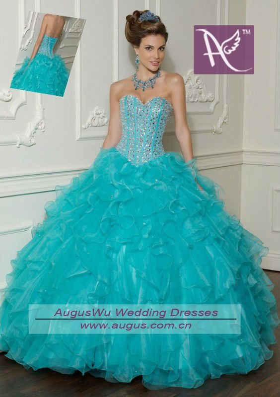 AQL3031 Real Sample Royal Blue Beaded Sweetheart Lace Up Western Gowns Party Quinceanera Dresses 2013-in Prom Dresses from Apparel  Accessories on Aliexpress.com $145.00