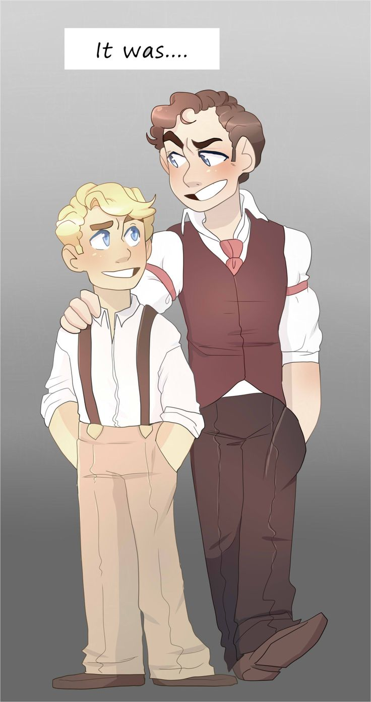 Wow. Click through for adorable fanart about Bucky getting used to postserum Steve.