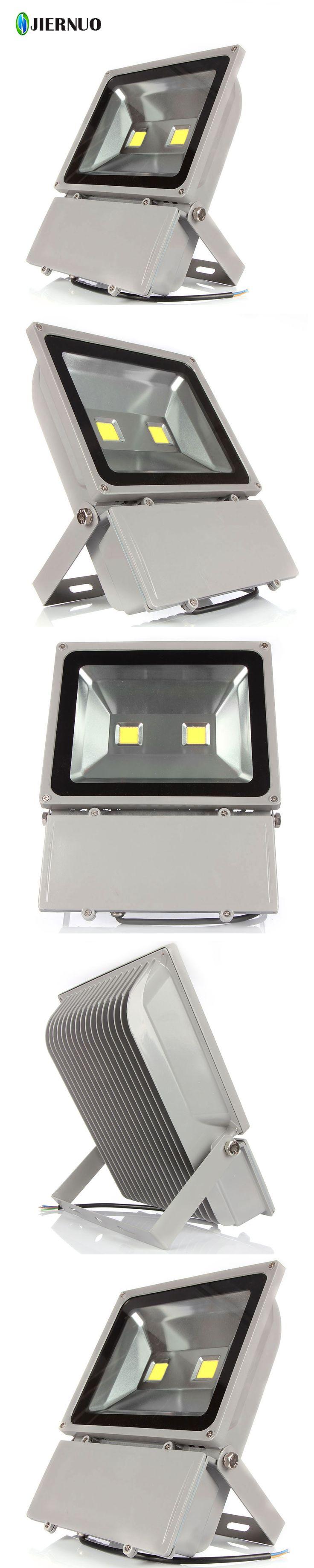 Super Bright LED Flood Light 100W White  AC85-265V Waterproof IP65 Floodlight Spotlight Outdoor Lighting Freeshipping
