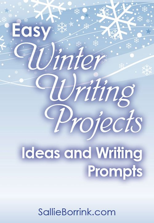 Easy winter writing projects ideas and prompts