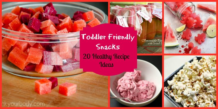 Healthy Snacks for Kids: 20 toddler friendly ideas  (not all 100% Paleo)
