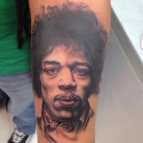 Tattooing Art By Yoni Zilber: 47 Best Jimi Hendrix Tattoos Images On Pinterest