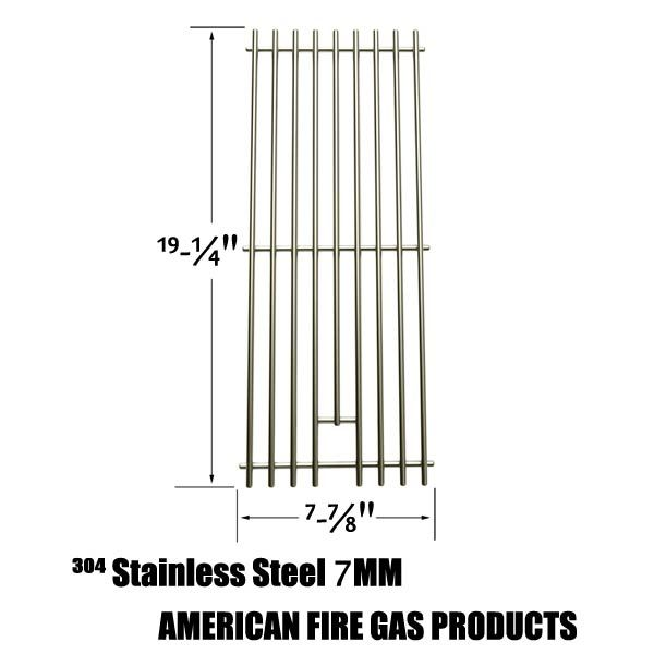 REPLACEMENT STAINLESS STEEL COOKING GRATES FOR CAPTN COOK, NEXGRILL 720-0584A, 720-0008-T, 720-033 AND PERFECT FLAME 720-0335, 730-0335 GAS GRILL MODELS  Fits Captn Cook Models:  XG4CKWNA  BUY NOW @ http://grillpartsgallery.com/shopexd.asp?id=33962&sid=18754