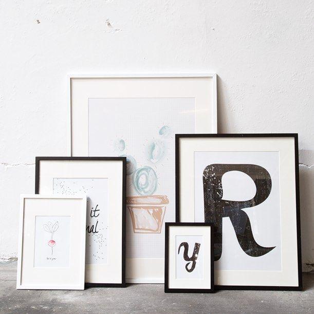 In stores now. A3, A4, A5, A6 – 24x24, 40x50, 50x70 cm. Prices from DKK 18,80 / SEK 26,60 / NOK 24,90 / € 2,64 / ISK 578 #skifteramme #frame #frames #print #sostrenegrene #søstrenegrene #interiør #interior #bolig #sgbolig