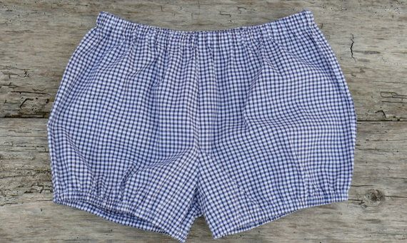 Blue and White Gingham Iyengar Yoga Shorts-Shorts for the beach-Available in 6 different colours
