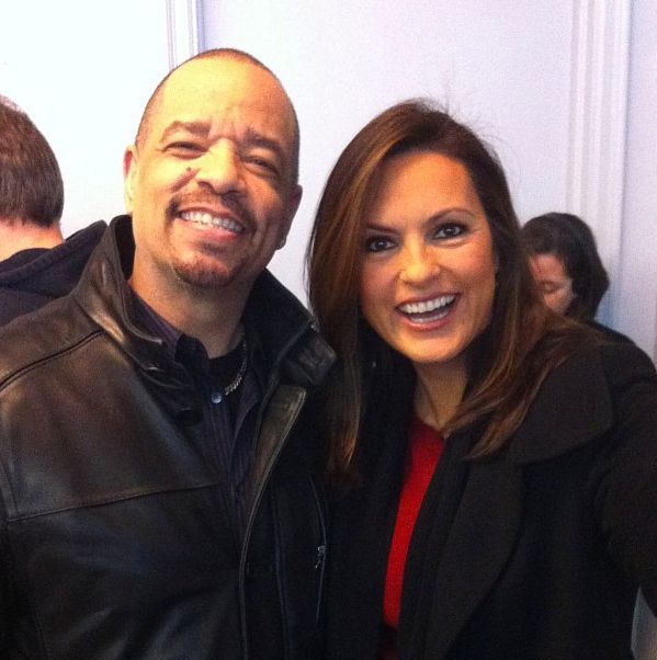 mariska hargitay / ice t / law and order svu