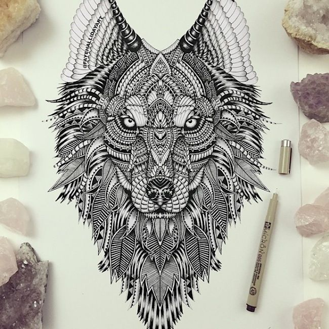 Amazing_Detailed_Animal_Doodles_Created_by_Artist_Faye_Halliday_2015_09